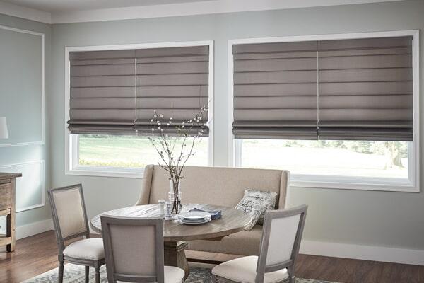 Roman blinds in Santa Clarita, CA from Carpet Clearance Custom Flooring Center & Window Coverings