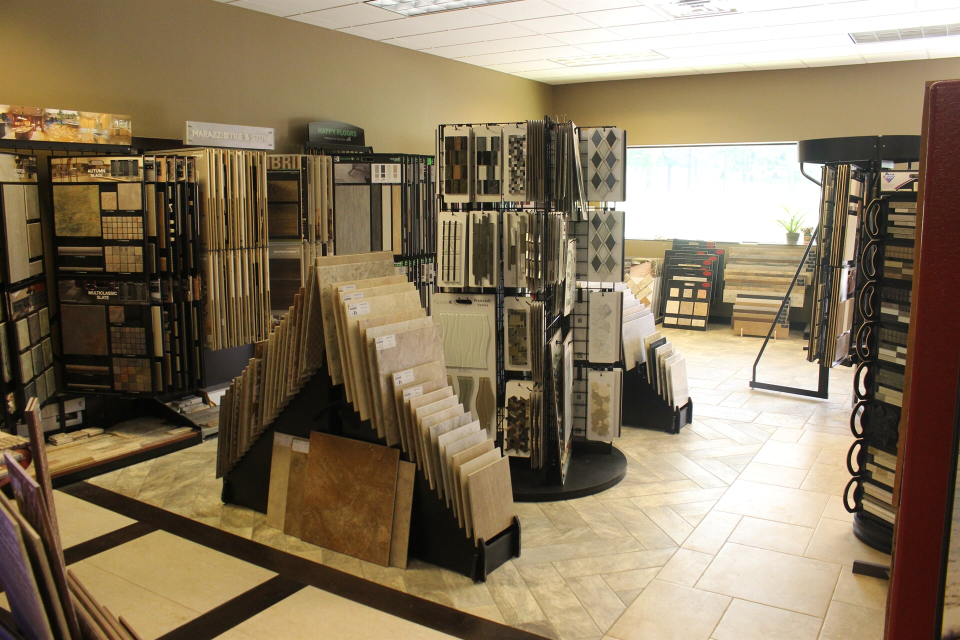 Even the floors of our showroom are covered with options for your Whitehouse, TX home