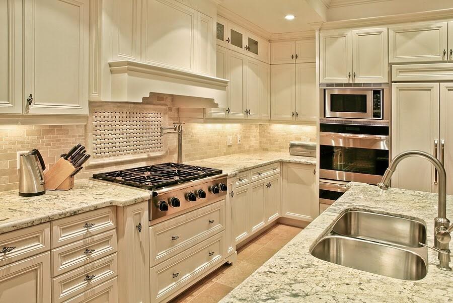 Beautiful bright kitchen renovation in Flint, TX from East Texas Floors