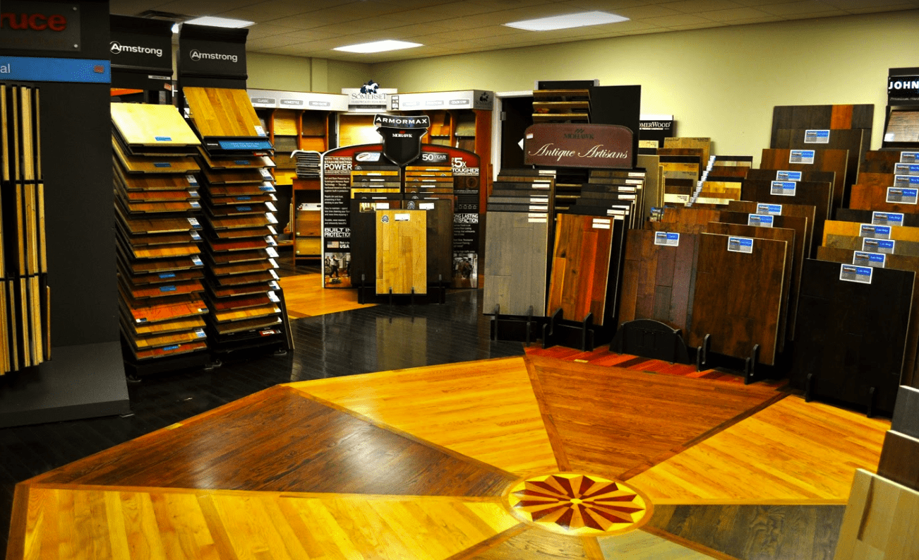 Hardwood options even covering the floors at Costen Floors