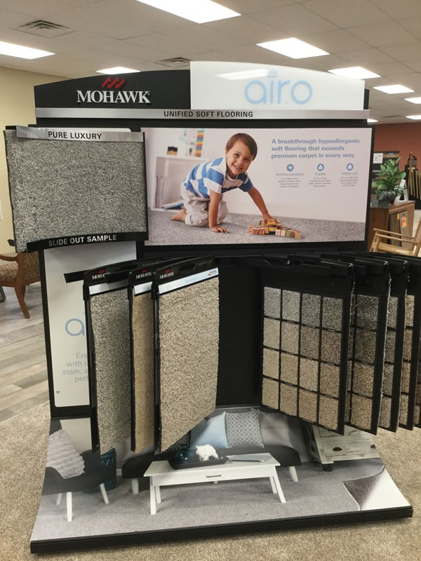 Floorscapes showroom in Carbondale, IL