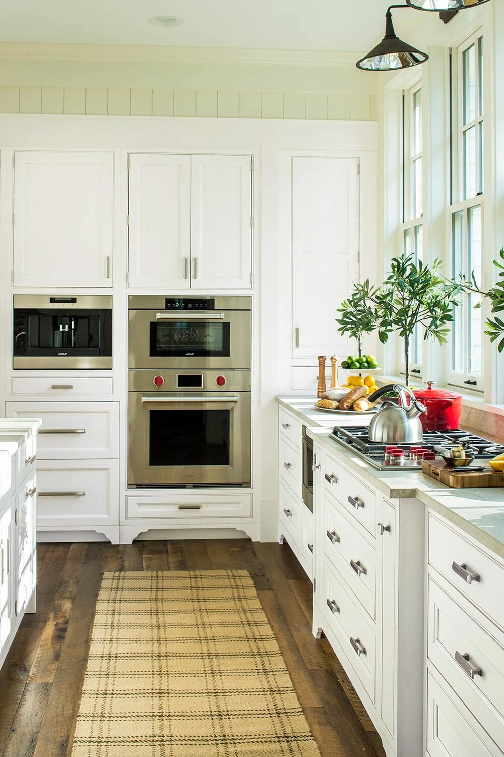 New cabinetry in kitchen remodel in Huntersville, NC from LITTLE Wood Flooring & Cabinetry