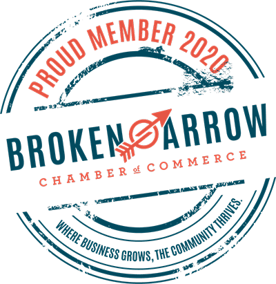 Proud member of the Broken Arrow Chamber