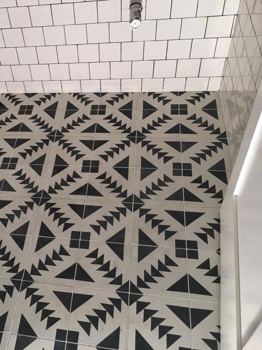 Beautiful mosaic tile flooring in Sun City, AZ from Cornerstone Flooring Brokers