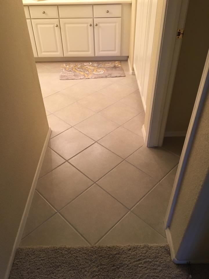 Classic kitchen tile flooring in Sun City, AZ from Cornerstone Flooring Brokers