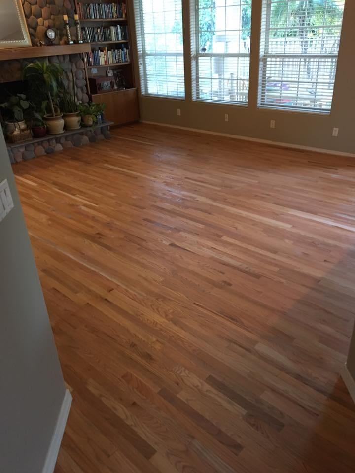 Hardwood flooring installation in Scottsdale, AZ from Cornerstone Flooring Brokers