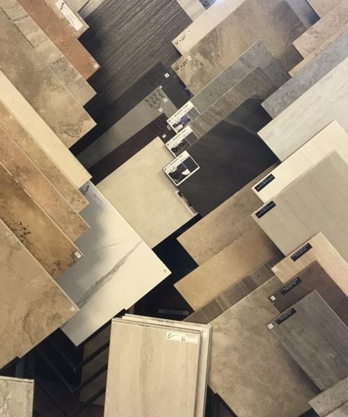 Tile flooring options in our Glendale, AZ showroom