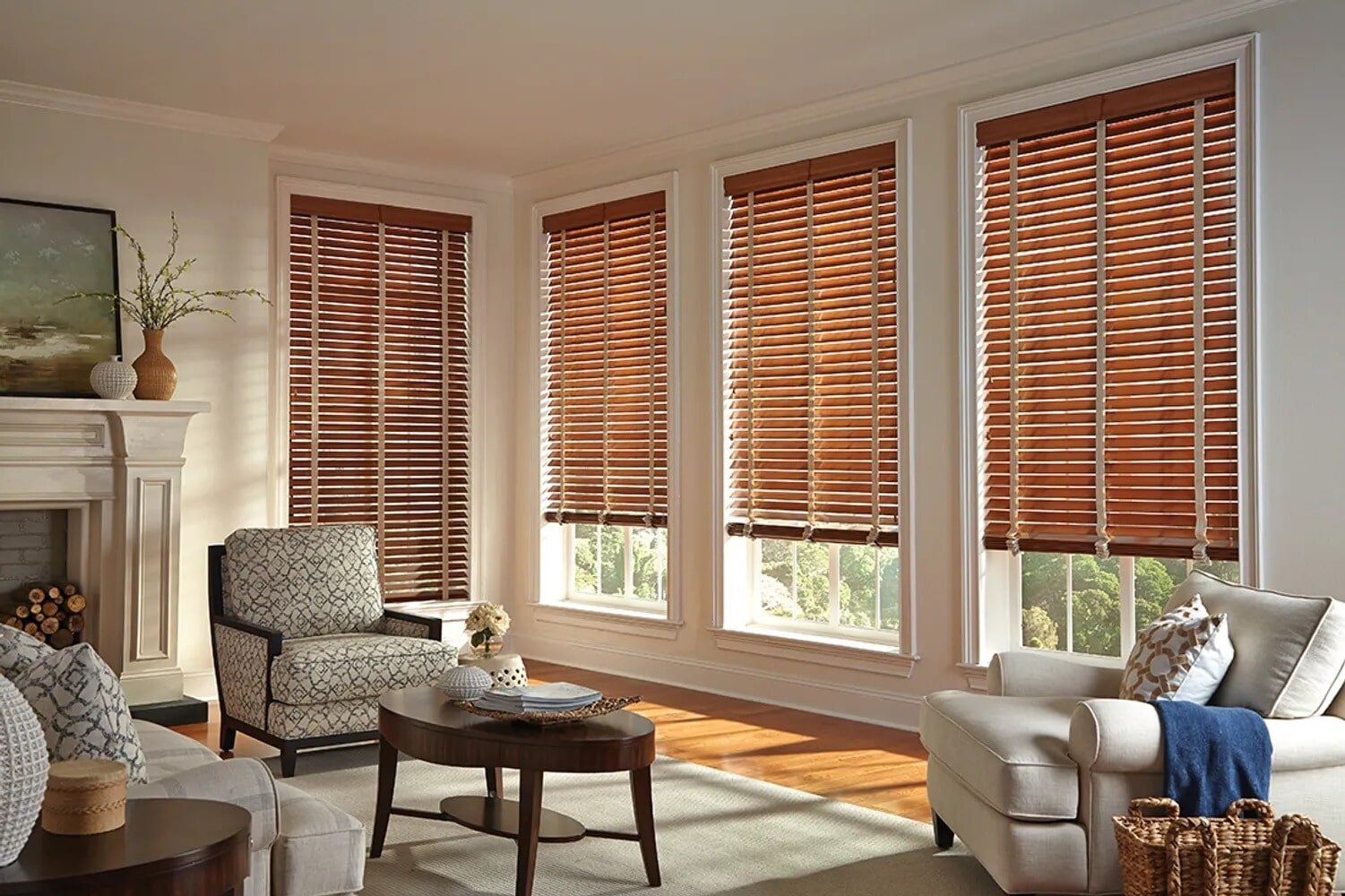 Wood blinds in Williamsport, PA from Kissingers Floor & Wall