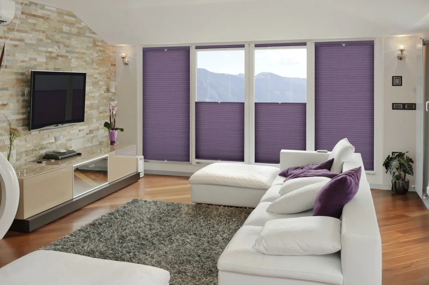 Beautiful purple shades in Danville, PA from Kissingers Floor & Wall