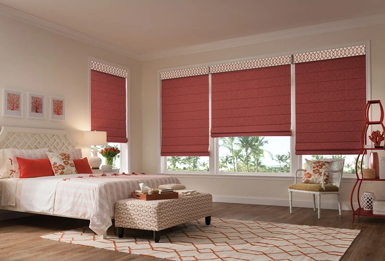 Soft red shades in Berwick, PA from Kissingers Floor & Wall