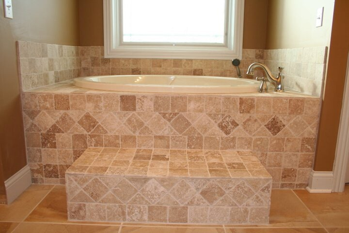 bathroom flooring from Paint Plus Flooring in Lyon, KY