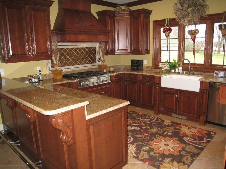 wood cabinets in Trigg, KY from Paint Plus Flooring