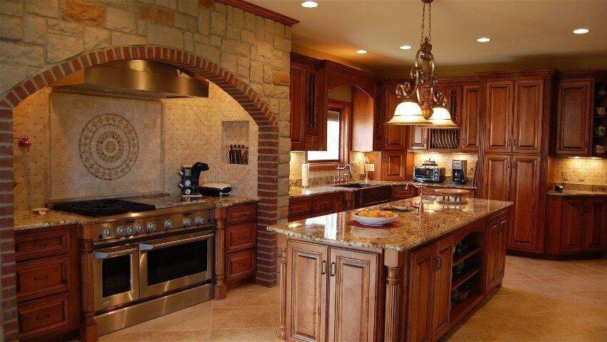 remodeled kitchen from Paint Plus Flooring in Benton, TN