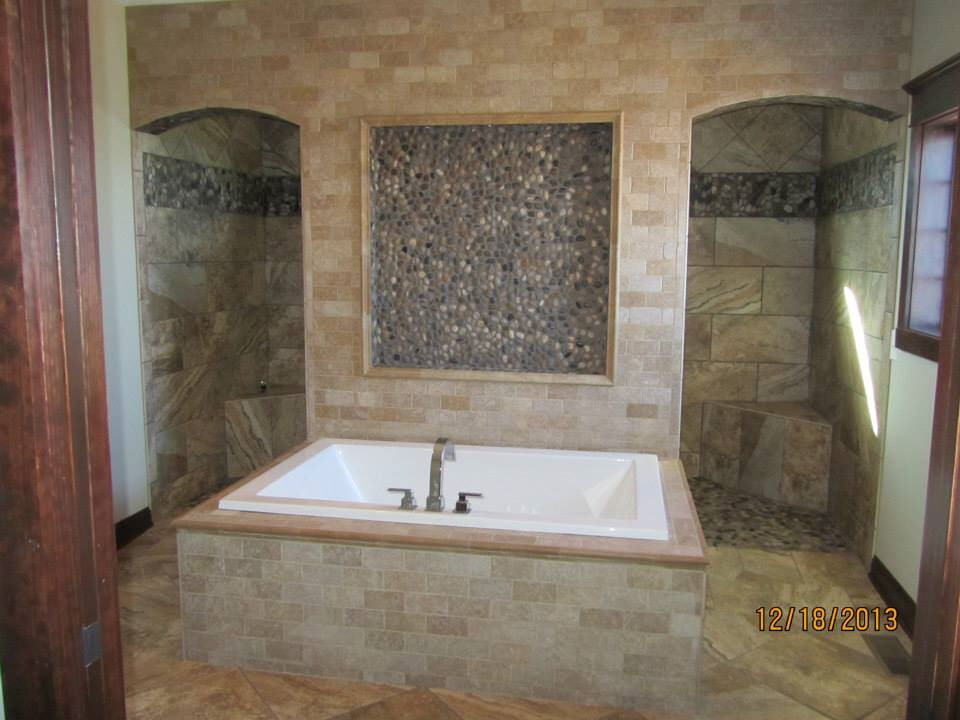 bathroom tile from Paint Plus Flooring in Weakley, TN