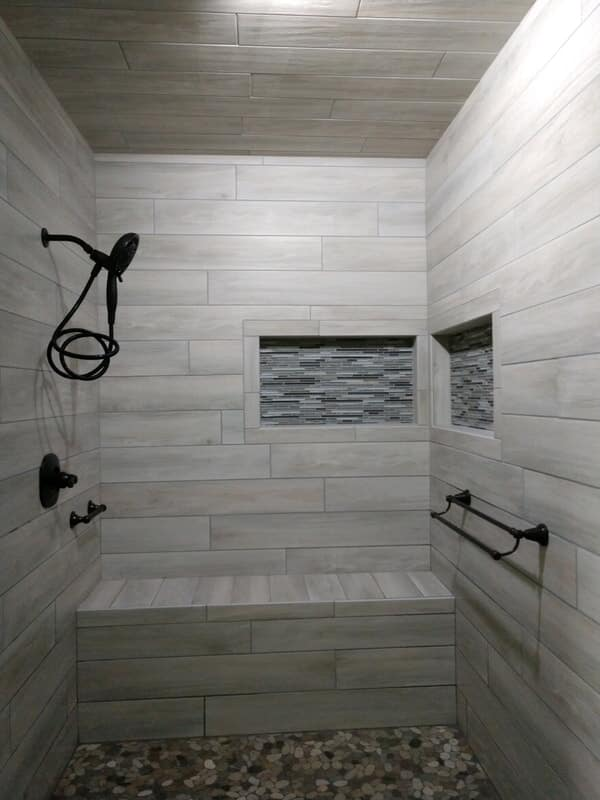 shower tile from Paint Plus Flooring in Weakley, TN