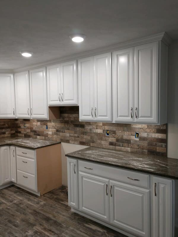 kitchen backsplash from Paint Plus Flooring in Houston, TN