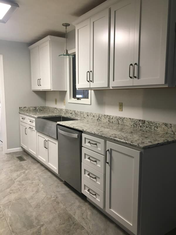 modern kitchen in Graves, KY from Paint Plus Flooring
