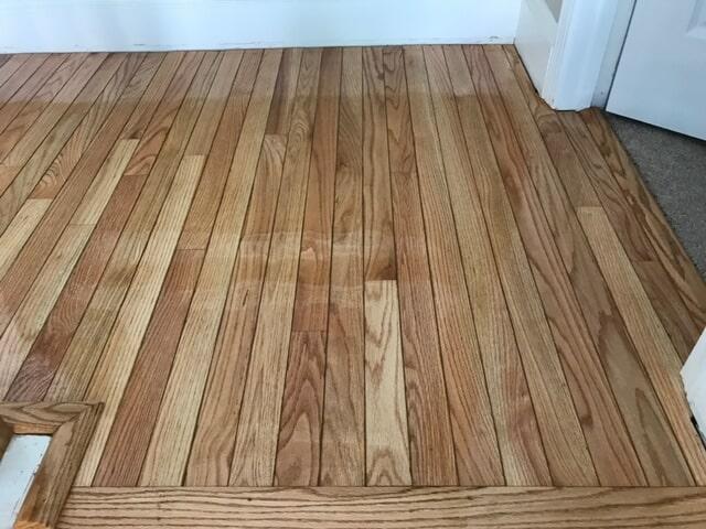 Light oak hardwood flooring in Atlanta, GA from Delta Carpet & Decor