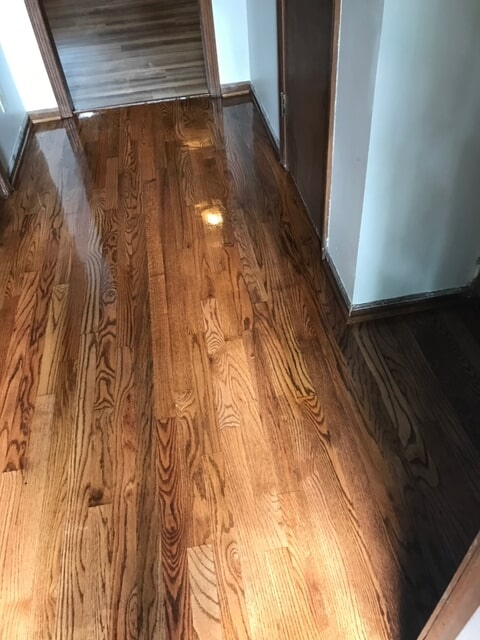 Bright natural grain hardwood in Lawrenceville, GA from Delta Carpet & Decor