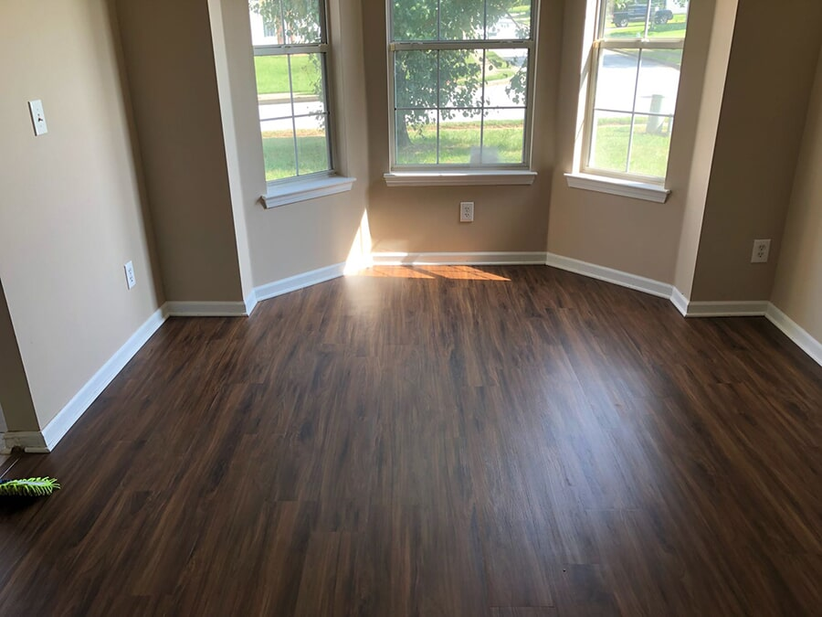 Professionally installed hardwood in Lawrenceville, GA from Delta Carpet & Decor