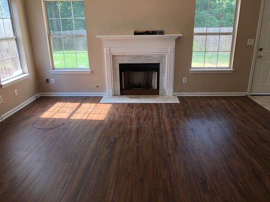New warm hardwood flooring in Atlanta, GA from Delta Carpet & Decor
