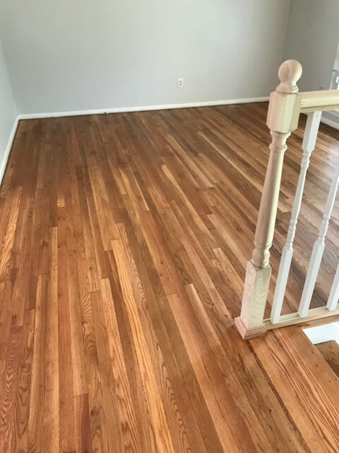 Hardwood stairs and loft in Norcross, GA from Delta Carpet & Decor