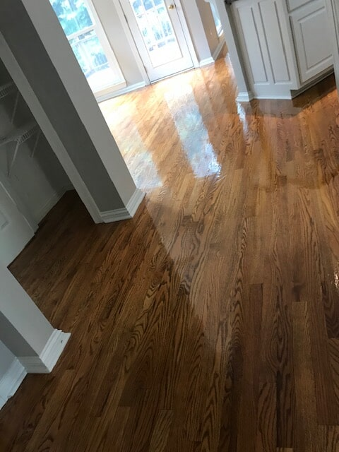 Oak hardwood flooring in Lawrenceville, GA from Delta Carpet & Decor