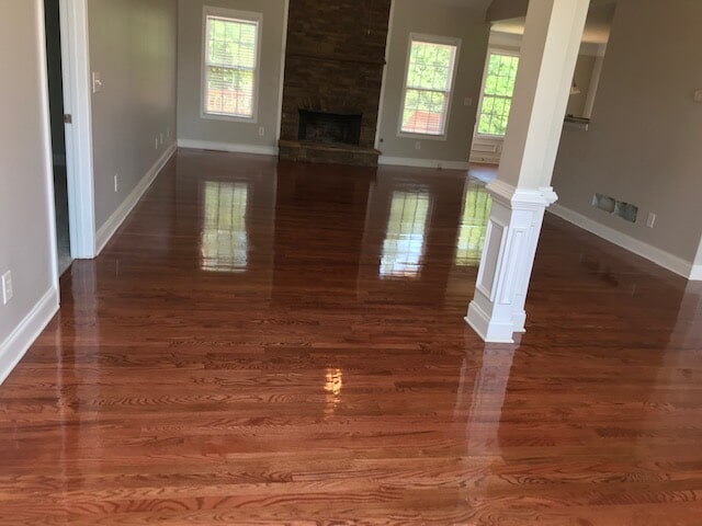 Gloss surface hardwood floors in Norcross, GA from Delta Carpet & Decor