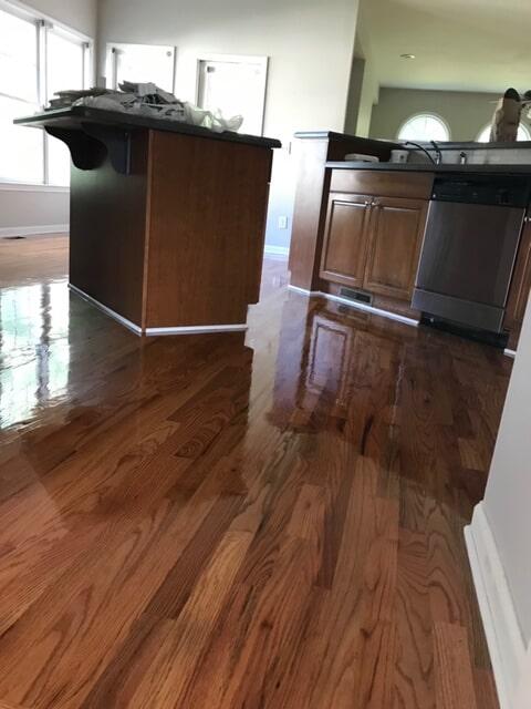 Shiny new hardwood flooring in Atlanta, GA from Delta Carpet & Decor