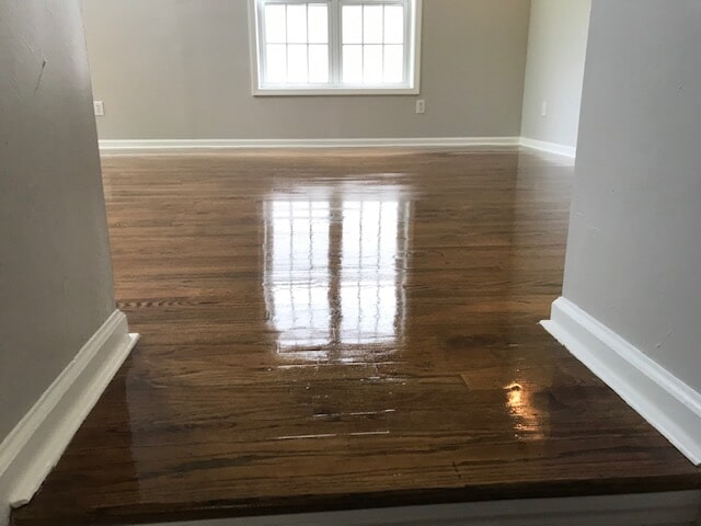 High gloss hardwood in Duluth, GA from Delta Carpet & Decor