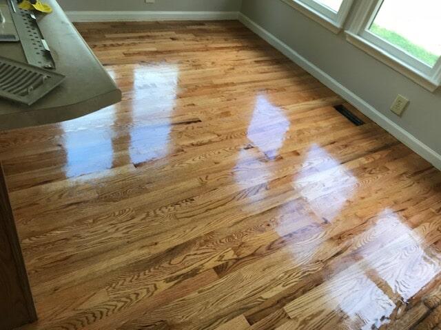 Refinished hardwood floors in Lawrenceville, GA from Delta Carpet & Decor