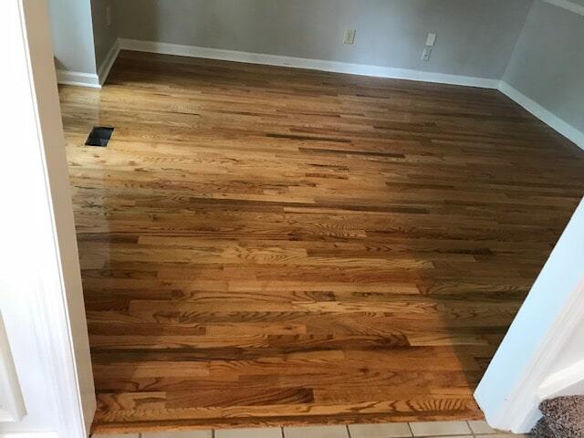 Lawrenceville, GA hardwood floors installed by Delta Carpet & Decor