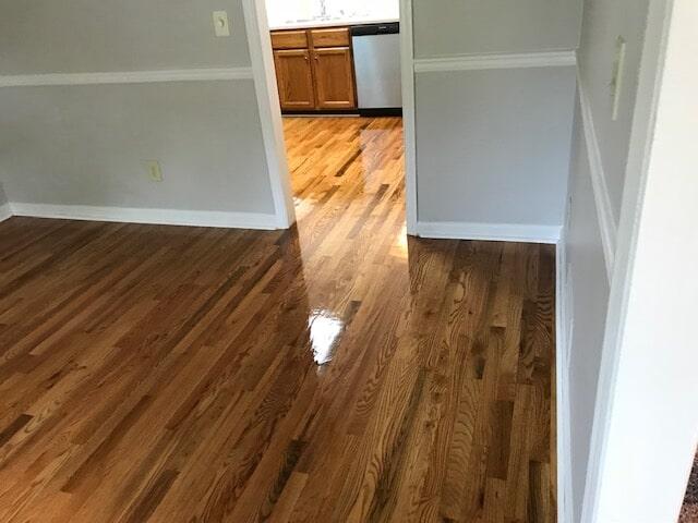Atlanta, GA floors with beautiful new hardwood refinish