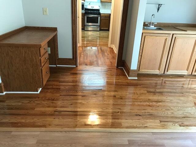 Finishing hardwood service in Norcross, GA from Delta Carpet & Decor