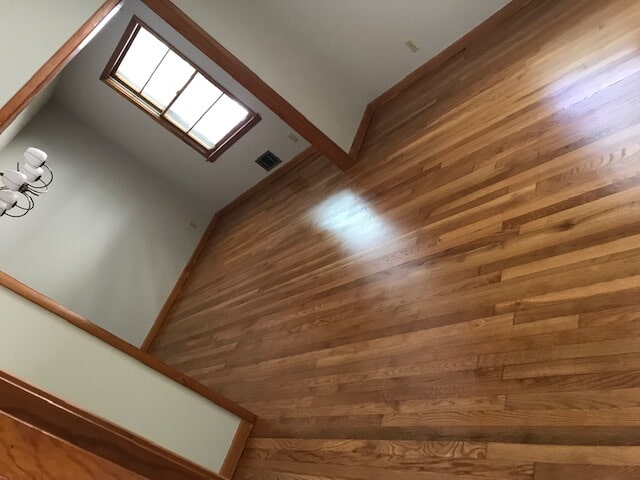 Lawrenceville, GA home with beautiful hardwood from Delta Carpet & Decor