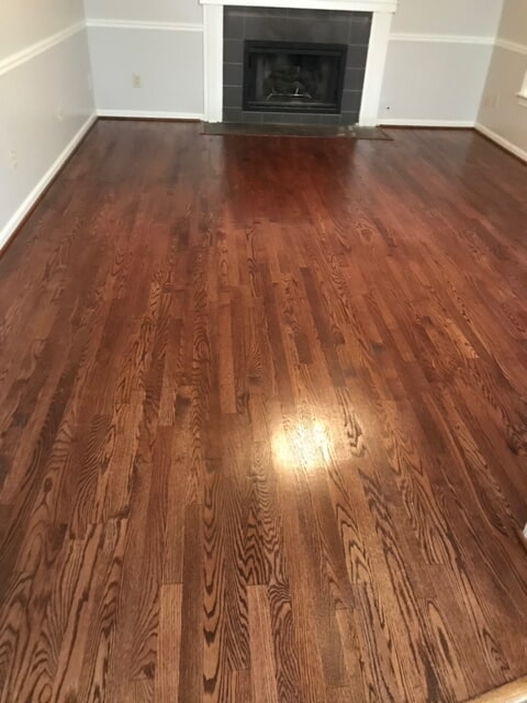 Classic tone hardwood finishing in Norcross, GA from Delta Carpet & Decor