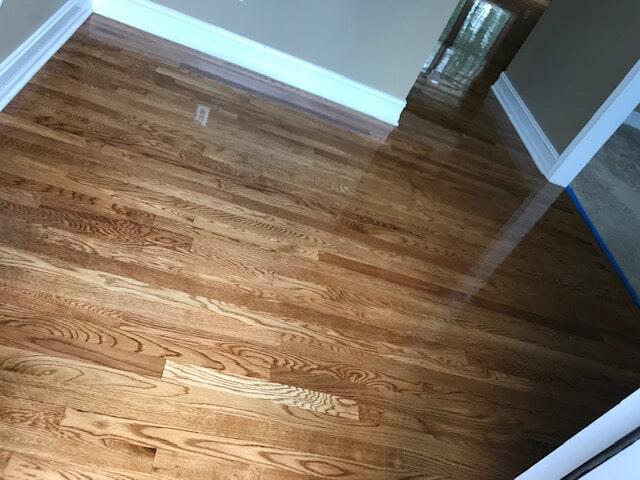 Natural oak flooring in Lawrenceville, GA from Delta Carpet & Decor