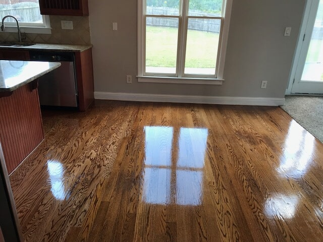 Beautiful grain finish in Norcross, GA from Delta Carpet & Decor