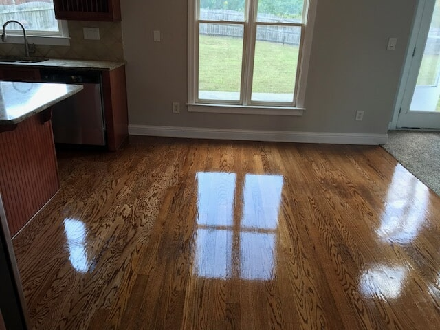 Look into a beautifully finished space in Duluth, GA from Delta Carpet & Decor