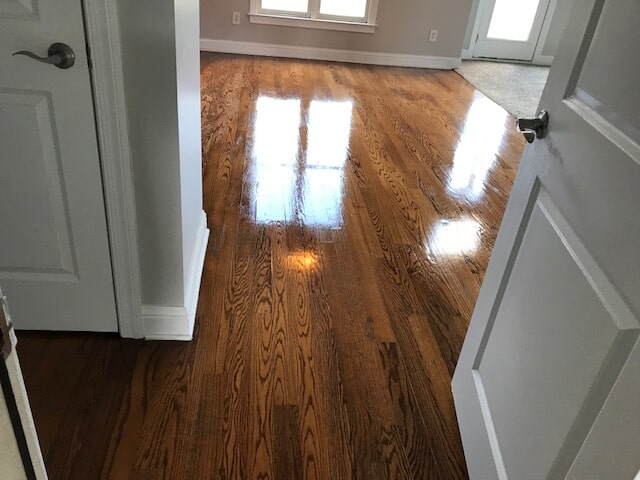 Beautiful natural grain with gloss finish in Stone Mountain, GA from Delta Carpet & Decor