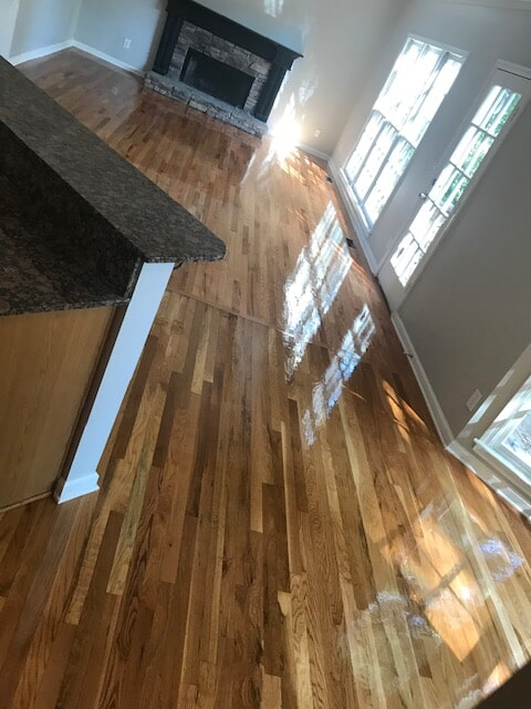 Call for hardwood like this in Norcross, GA from Delta Carpet & Decor