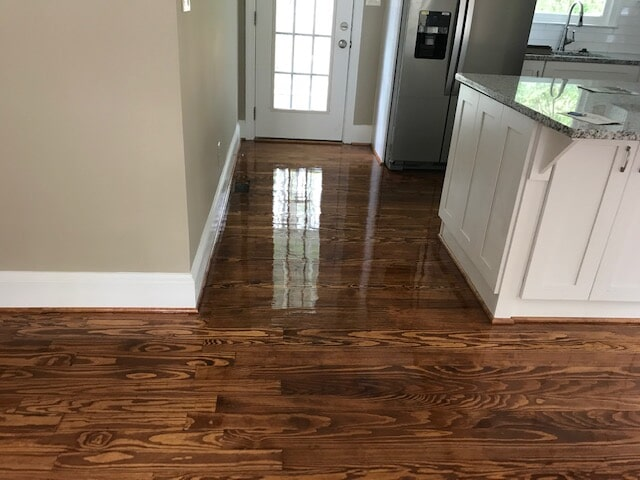 Hardwood installation in new construction home in Duluth, GA