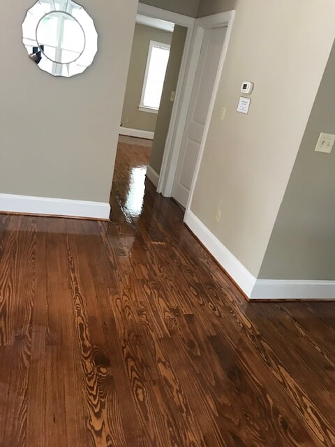 New construftion hardwood floor covering in Stone Mountain, GA from Delta Carpet & Decor