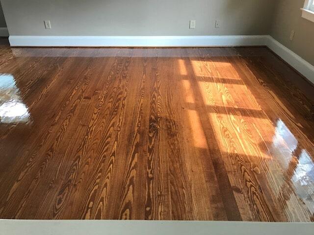 New construction hardwood flooring in Lawrenceville, GA from Delta Carpet & Decor