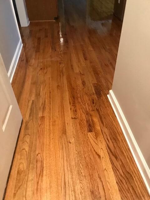 Light natural grain hardwood offered in Atlanta, GA from Delta Carpet & Decor