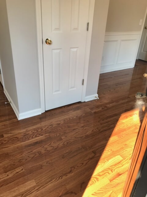 Hardwood bringing life to renovated space in Lawrenceville, GA from Delta Carpet & Decor