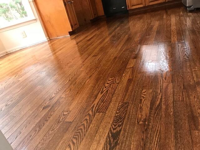 Warm hardwood brightening room in Norcross, GA from Delta Carpet & Decor