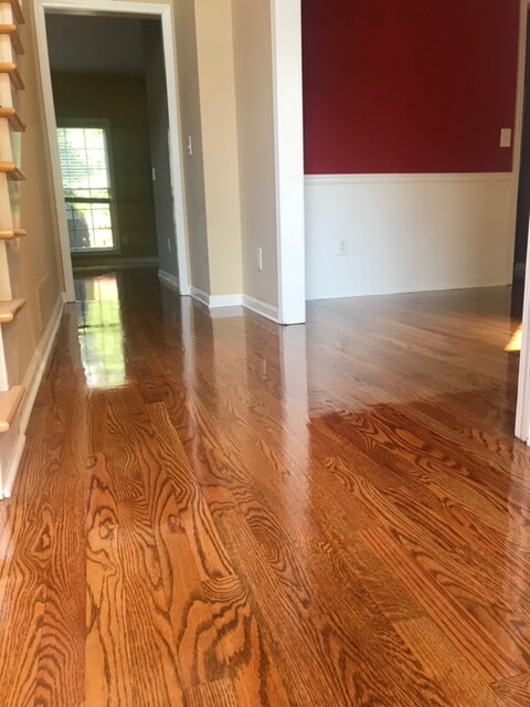 New hardwood matching paint in Atlanta, GA from Delta Carpet & Decor