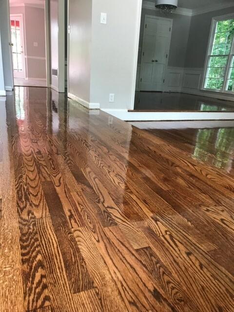 Semi-gloss hardwood in Duluth, GA from Delta Carpet & Decor