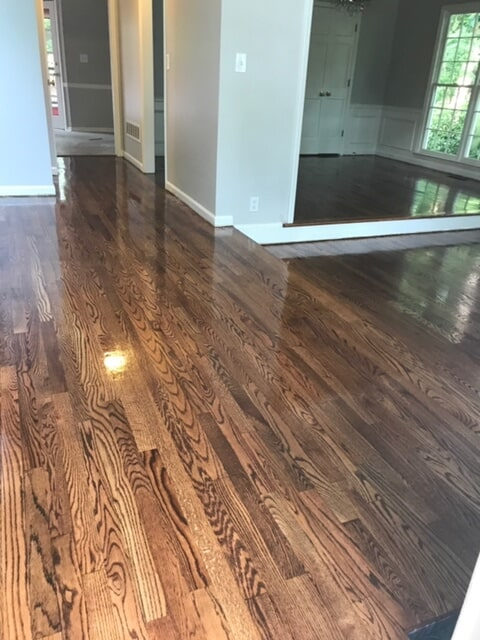 Medium tone hardwood in Atlanta, GA from Delta Carpet & Decor